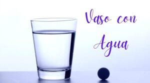 tecnica del vaso con 34 de agua para hooponopono